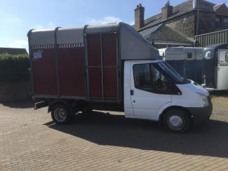 Transit 3.5 ton Ifor Williams horsebox